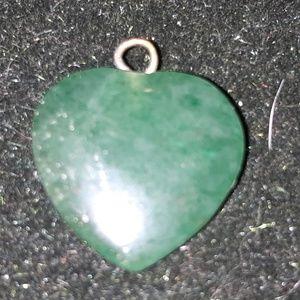 Jewelry - Jade Heart Pendant